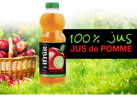 100%  jus pomme ifruit ifri